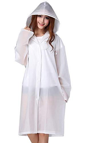 Couleur Cordon Casual Des De Femmes Extérieure Blanc Imperméable Manteau Capuche Unie Veste Dame Pluie Avec Mode Tranchée À fcpyqf1wvx