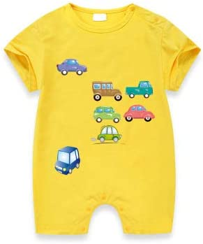 made in Liberty Cars for personalize clothing Cute car iron on for baby boy