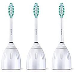 Philips Sonicare E-Series replacement toothbrush heads, HX7023/64, 3-pack