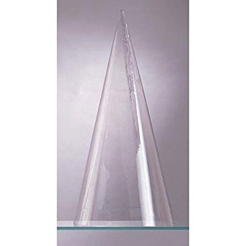 Darice Bulk Buy DIY Plastic Cone Doll Body Clear 9 inches (6-Pack) 1231-34