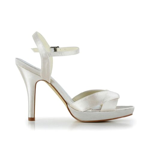 mariage Escarpins JIA mariée chaussures JIA 37060 femme Sekt de pour Wedding PqY0xB