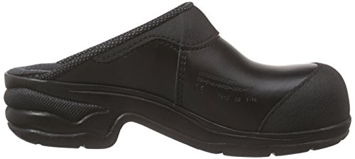 Sanita Safety Clog Open-sb, Zuecos Unisex Adulto Negro - Schwarz (Black 2)