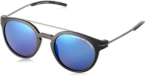 Porsche Design Men's P8644 P/8644 Round Sunglasses 50mm