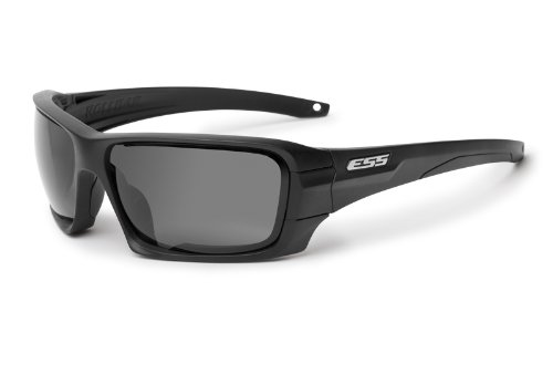 ESS Sunglasses Black Rollbar Silver Logo Kit w/Interchangeable Lenses - Tab Sunglasses Cheap