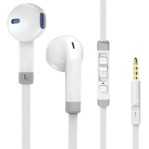 Earphones Headphones,Ofuca P100 Noise Isolating Earbuds with Stereo Mic&Remote Control Compatible with Samsung Huawei Android Smartphones, Tablets and All 3.5mm Audio Devices