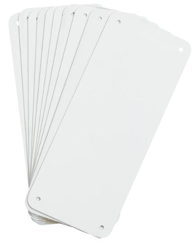 Brady Sign Blanks - White - 4.25