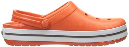 Crocs Crocband Orange White Unisex Adulto – Zoccoli Tangerine p1qOwa7p