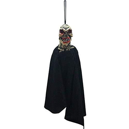 Halloween Prop KIKOY Scary Head portrait Pendant Tag for Ghost Festival KTV Bar Window 1pcs -