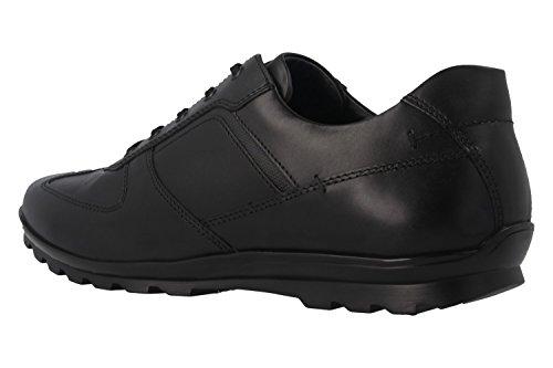 Fretz Men, Chaussures À Lacets Homme Noir Noir