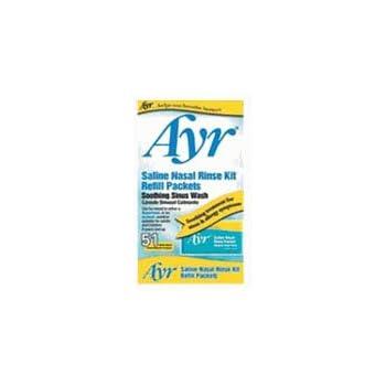 how to use ayr saline nasal rinse kit