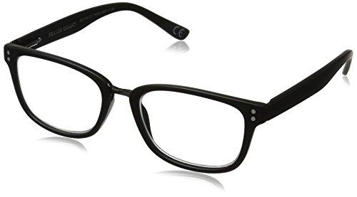 Foster Grant Men's Carlton 1017548-125.COM Wayfarer Reading Glasses, black, - 2016 Mens Frames Glasses