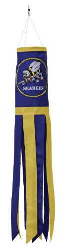 In the Breeze U.S. Navy Seabees Windsock, 40-Inch