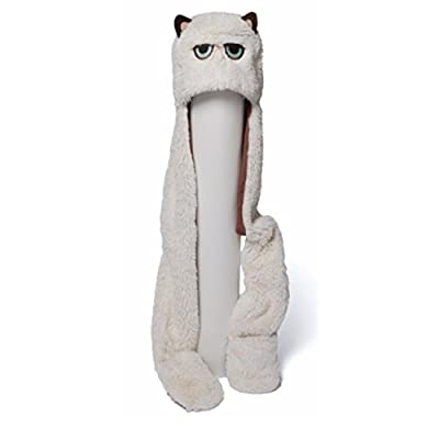 "38"" Extra Soft and Silky Grumpy Cat Plush Stuffed Animal Novelty Hat: Toys & Games"