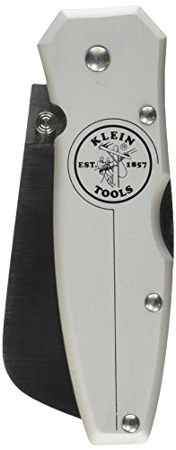 Klein Tools 44007 Lightweight Lockback Knife with Anodized Aluminum Handle