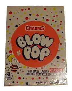 Charms Cherry Blow Pops (Blo Pops) (Blo Pops)