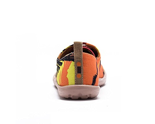 Età Orange adolescent Pour Mode Casual Toiles Village La Enfant Chaussures Uin De w8XPO8q