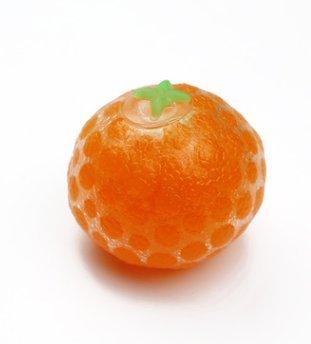 Squishy Orange Stress Relief Serrant Souple en Caoutchouc Orange Poignet Jouet Dr/ôle Geek Gadget Vent Jouet