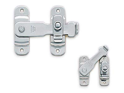 Sugatsune BLL-60: 63mm Spring Loaded Bar Latch - Polished Stainless Steel