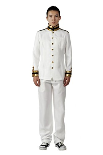 Mtxc Men's Hetalia: Axis Powers Cosplay Japan Size XXX-Large White -