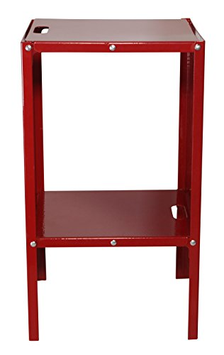 Metal Foldable Locker Shelf From Pratiko , Red (12'' wide )