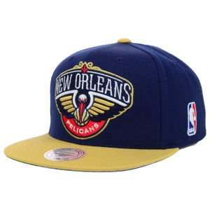 New Orleans Pelicans Mitchell & Ness 2 Tone Team Logo Snapback Hat
