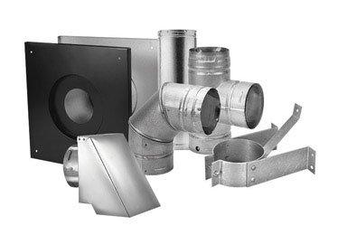 4 inch horizontal vent kit - 7