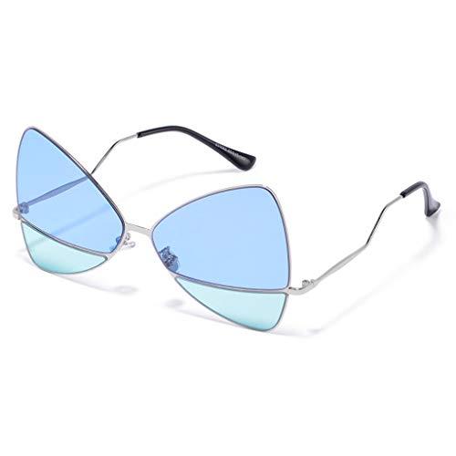 E légères Box Ladies C Femme de Personality Sport Shooting Light Couleur Soleil Korean Big Des soleil de Street lunettes Lunettes npH8v7qx4w