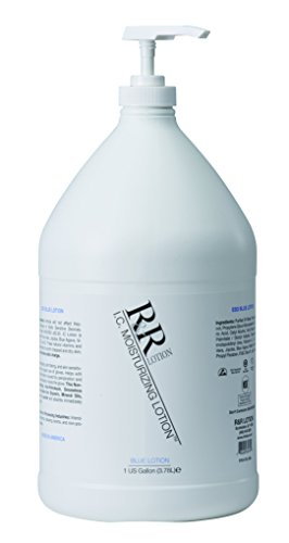 R&R Lotion CASE-ICL-GAL Blue IC Pregloving Antistatic Moisturizing Lotion, 1 Gallon Dispenser Refill (Case of 4) by R&R Lotion
