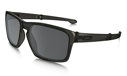 Oakley Men's Polarized Sliver Foldable Sunglass - Matte Gray Ink/Black Iridium - Foldable Oakley