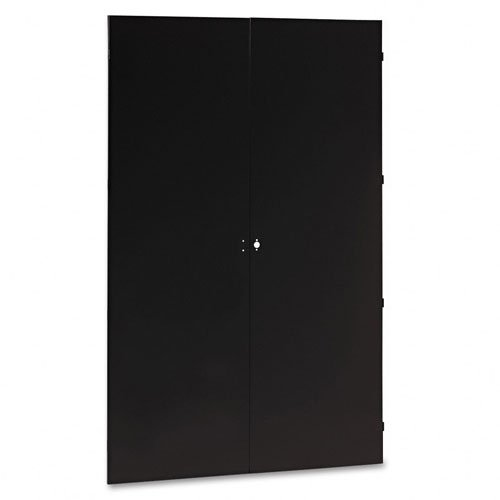UPC 447671246045, Tennsco J478BK 48 by 24 by 78-Inch Jumbo Steel Storage Cabinets, Black