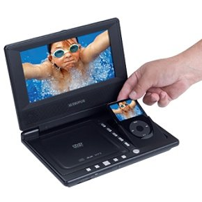 Audiovox D8000IP 8-Inch Portable DVD Player with Built-in iPod Video Docking Station (Audiovox Ipod)