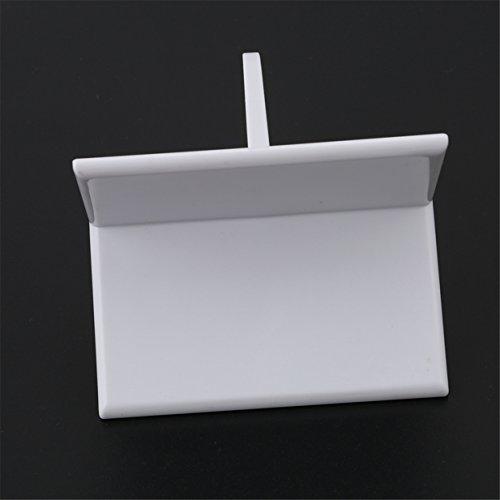 Lalang Fondant-Glätter zum Verzieren von Kuchen mit scharfen Kanten als DIY Backen Tools (1pcs Rechter Winkel)