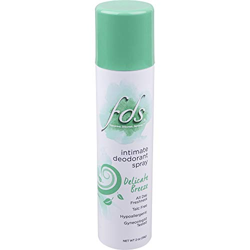 FDS Feminine Deodorant Spray Delicate Breeze 2 oz Pack of 8
