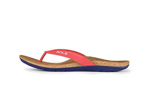 Sole Spiaggia Flips - Mens Sandalo Di Supporto Arco Sandalo