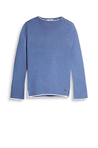 Pull Esprit Femme 420 by Grey edc Bleu Blue twEqPn65