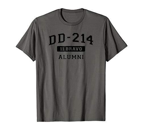 DD-214 US Army 11 BRAVO Alumni T-Shirt
