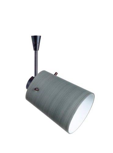 [Besa Lighting SP-5118TN-LED6-BR 1X6W LED MR16 Tammi 3 Spotlight with Titan Glass, Bronze Finish] (5118tn Led)