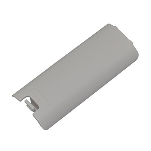 Generic Replacement Remote Controller Battery Cover for Nintendo Wii White