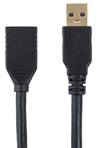 Monoprice Select Series USB 3.0 A to A Female Extension Cable, 6' (113751)