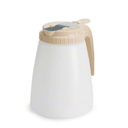 (Tablecraft - Polyethylene All Purpose Dispenser - 48-Ounce - Almond)