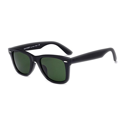 Men's UV pilote confort frame Fashion Big lunettes WLHW dark protection Mme Lunettes Black soleil verre de green HD UVA de soleil lunettes IwqIxYB0Z