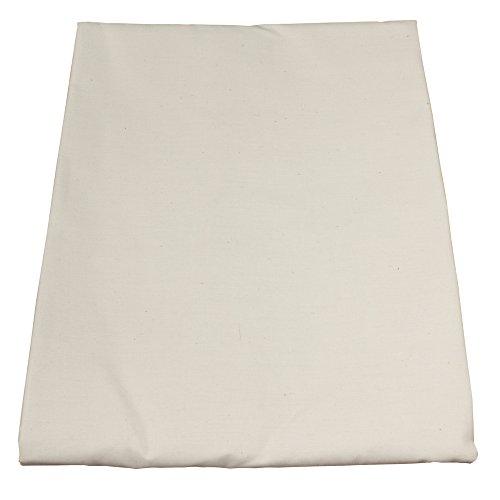 Body Linen Simplicity Poly Cotton Flat Sheet, Natural (Flat Natural Sheet Linen)