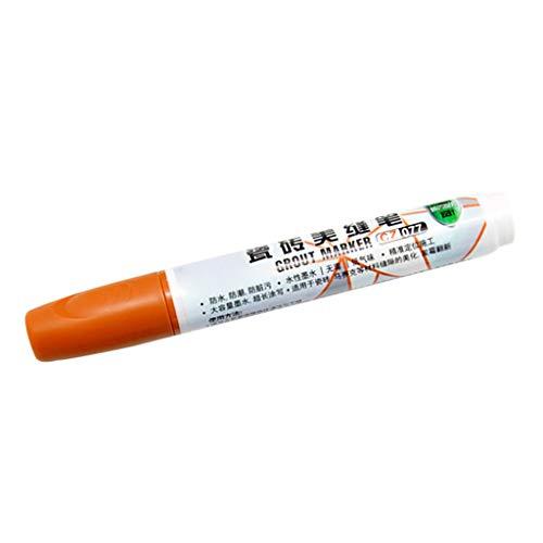 ❤️Jonerytime❤️ Tricolor Tile Beauty Stitch Pen Tile Gap Repair Pen Seam Reform Wall Glue Aide (Yellow)