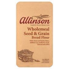 Allinson Wholemeal Seed Grain Bread Flour 1kg