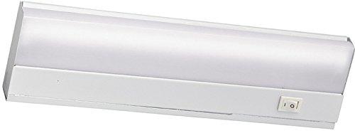 Kichler 10041WH Fluorescent Direct Wire Fluorescent 8W, White