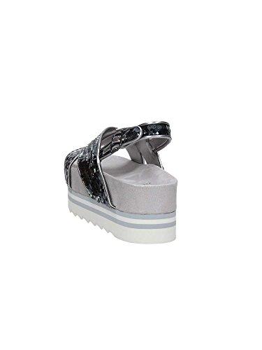 Gætte Flhrr2sat03 Sandaler Damer Sølv yps2A