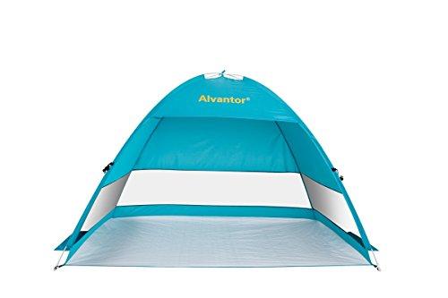 Beach-Tent-CoolHut-Plus-Beach-Umbrella-Sun-Shelter-Instant-Portable-Cabana-Shade-Outdoor-Pop-Up-Anti-UV-50-Lightest-Most-Stable-Easyup-By-Alvantor
