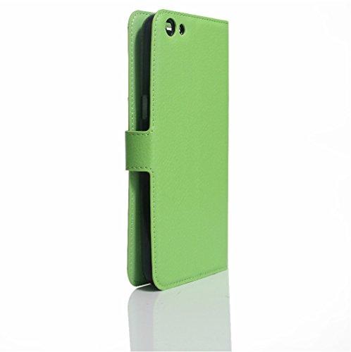 Funda Libro para Doogee F3 Plus, Manyip Suave PU Leather Cuero Con Flip Cover, Cierre Magnético, Función de Soporte,Billetera Case con Tapa para Tarjetas E