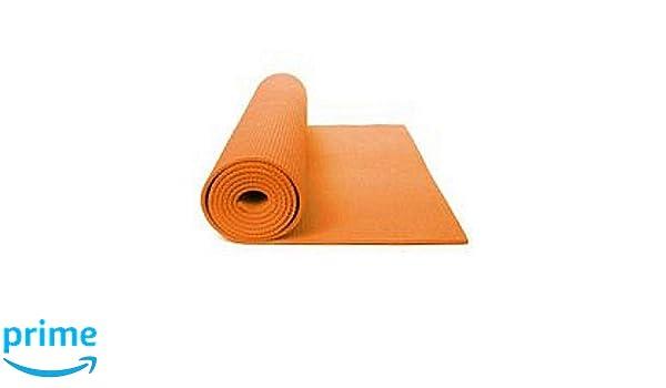 Amazon.com : Yoga Mat Happy Power (Orange 24