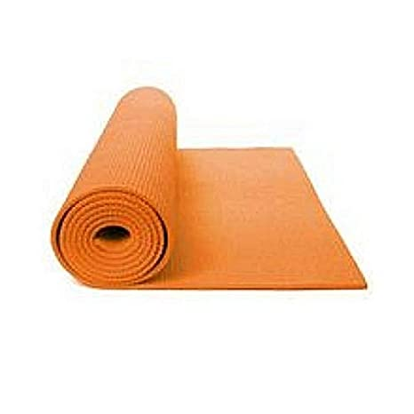 Amazon.com : Yoga Mat Happy Power (Orange 24